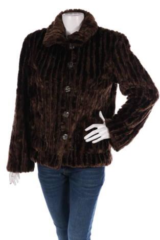 Палто с косъм White Stag