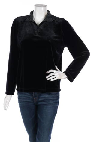 Блуза с поло яка Style & Co