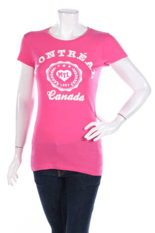 Тениска с щампа Alstyle Apparel & Activewear