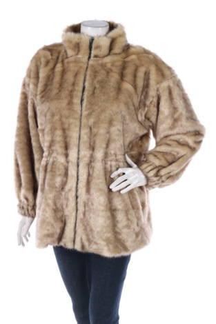 Палто с косъм NA-KD