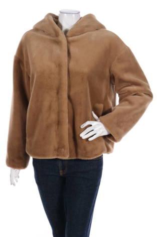 Палто с косъм United Colors Of Benetton