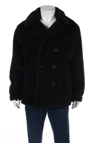 Палто с косъм Topman
