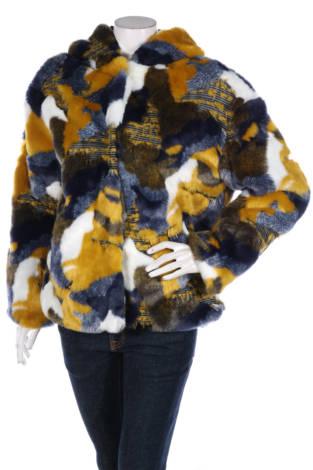 Палто с косъм Desigual