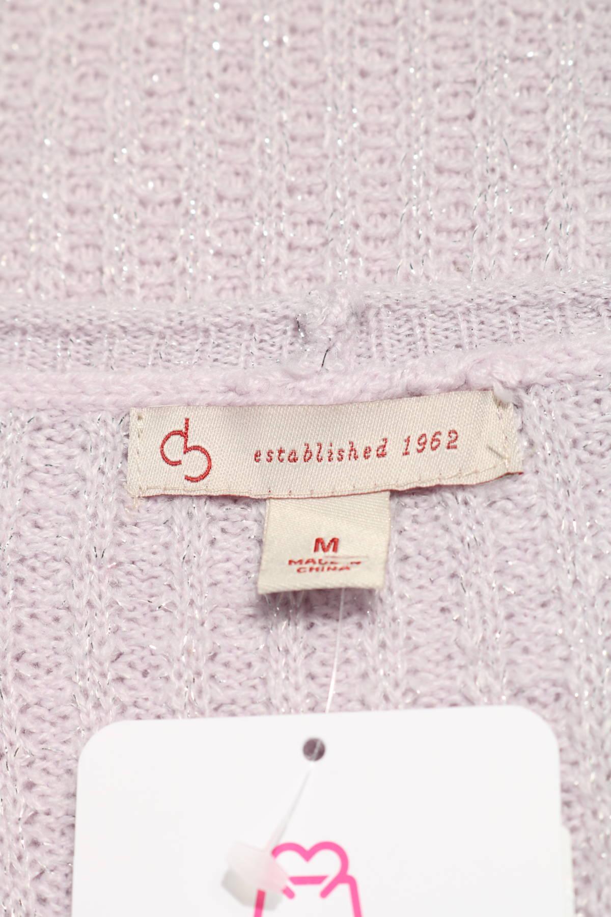 Пуловер ESTABLISHED 19623