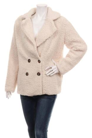 Палто с косъм COEUR DE VAGUE