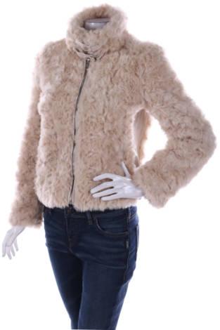Палто с косъм Forever 21