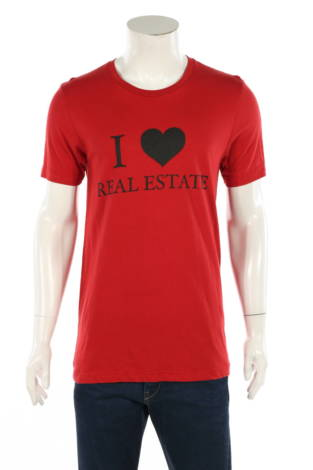 Тениска с щампа Canvas