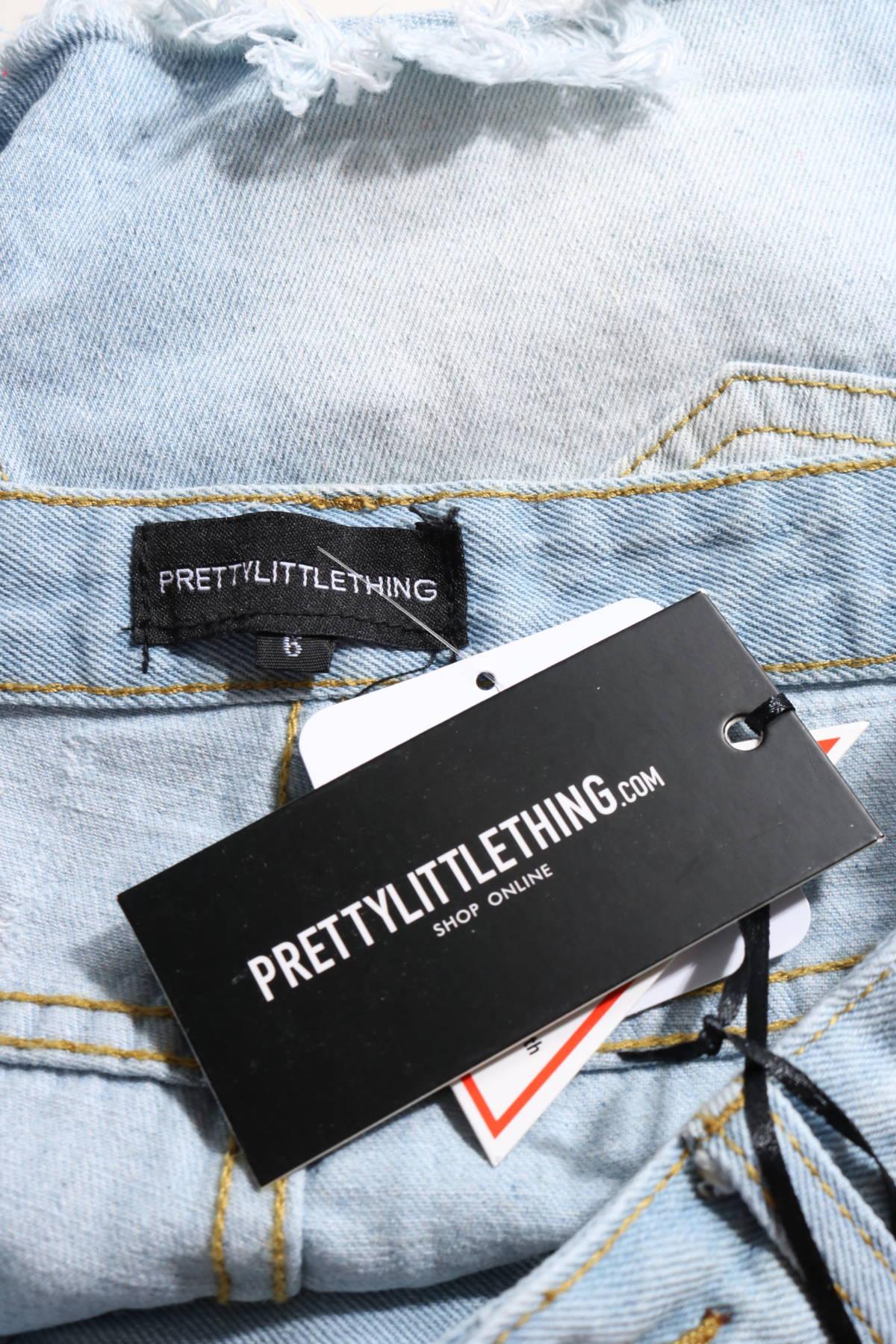 Къси дънки Prettylittlething3