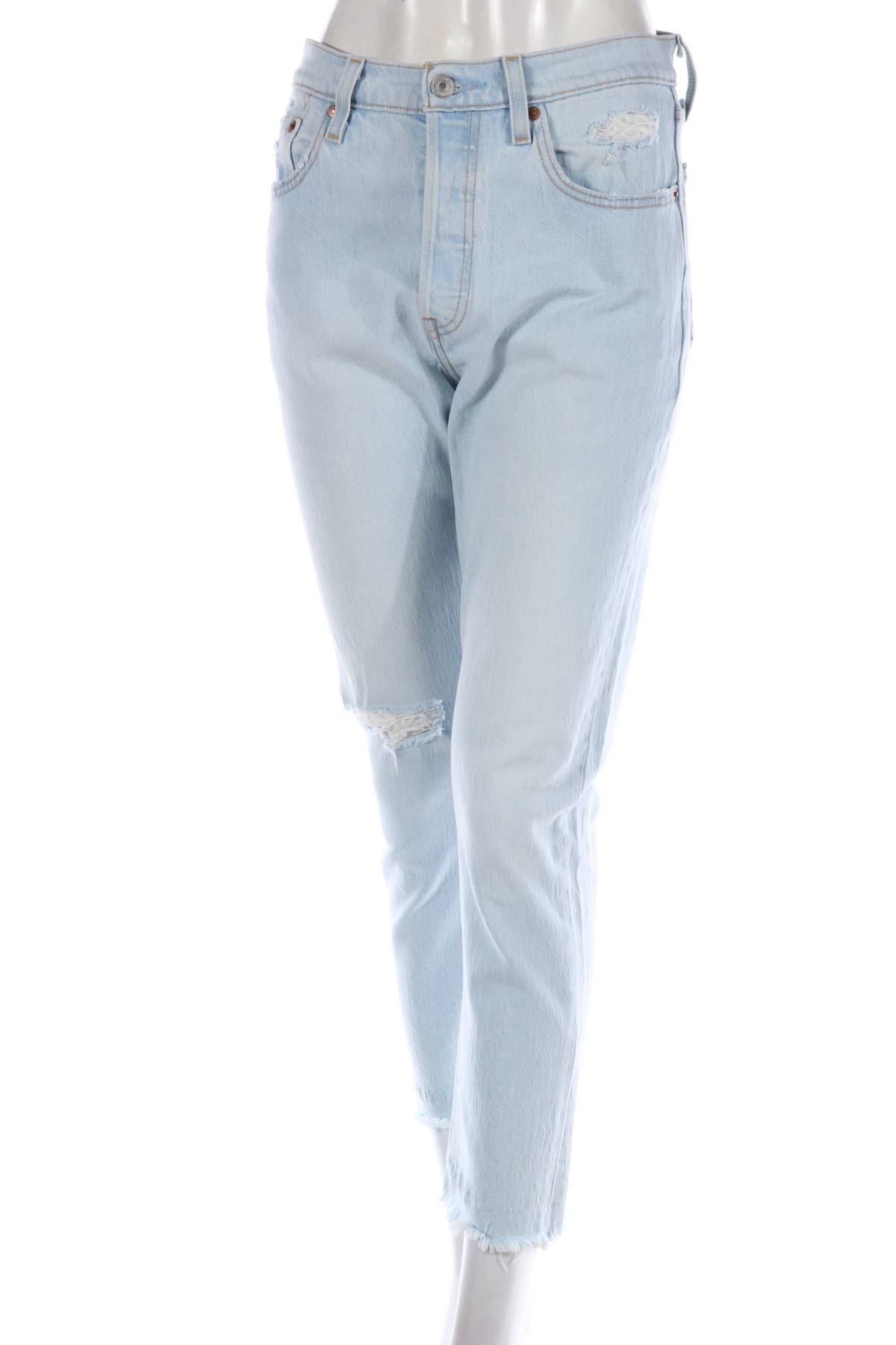Дънки с висока талия Levi`s1