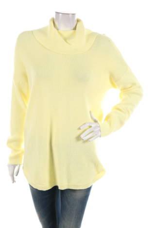 Пуловер с поло яка Chaus