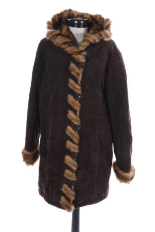 Палто с косъм Dennis Basso