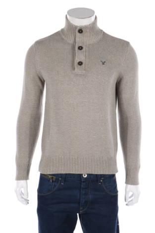 Пуловер с поло яка American Eagle