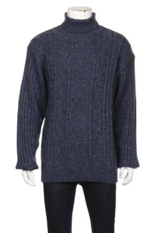 Пуловер с поло яка BASIC LINE