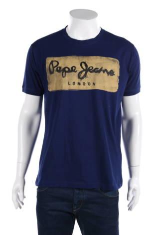 Тениска с щампа Pepe Jeans