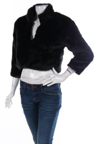 Палто с косъм Mascara London