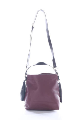 Кожена чанта Zara