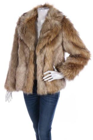 Палто с косъм Wallis