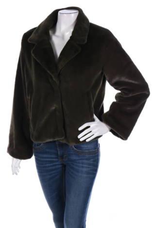 Палто с косъм Minimum