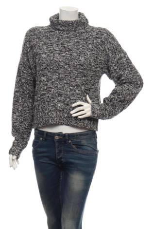 Пуловер с поло яка REBECCA MINKOFF