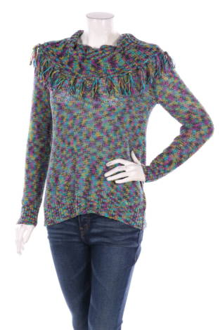 Пуловер с поло яка Ruby Rd