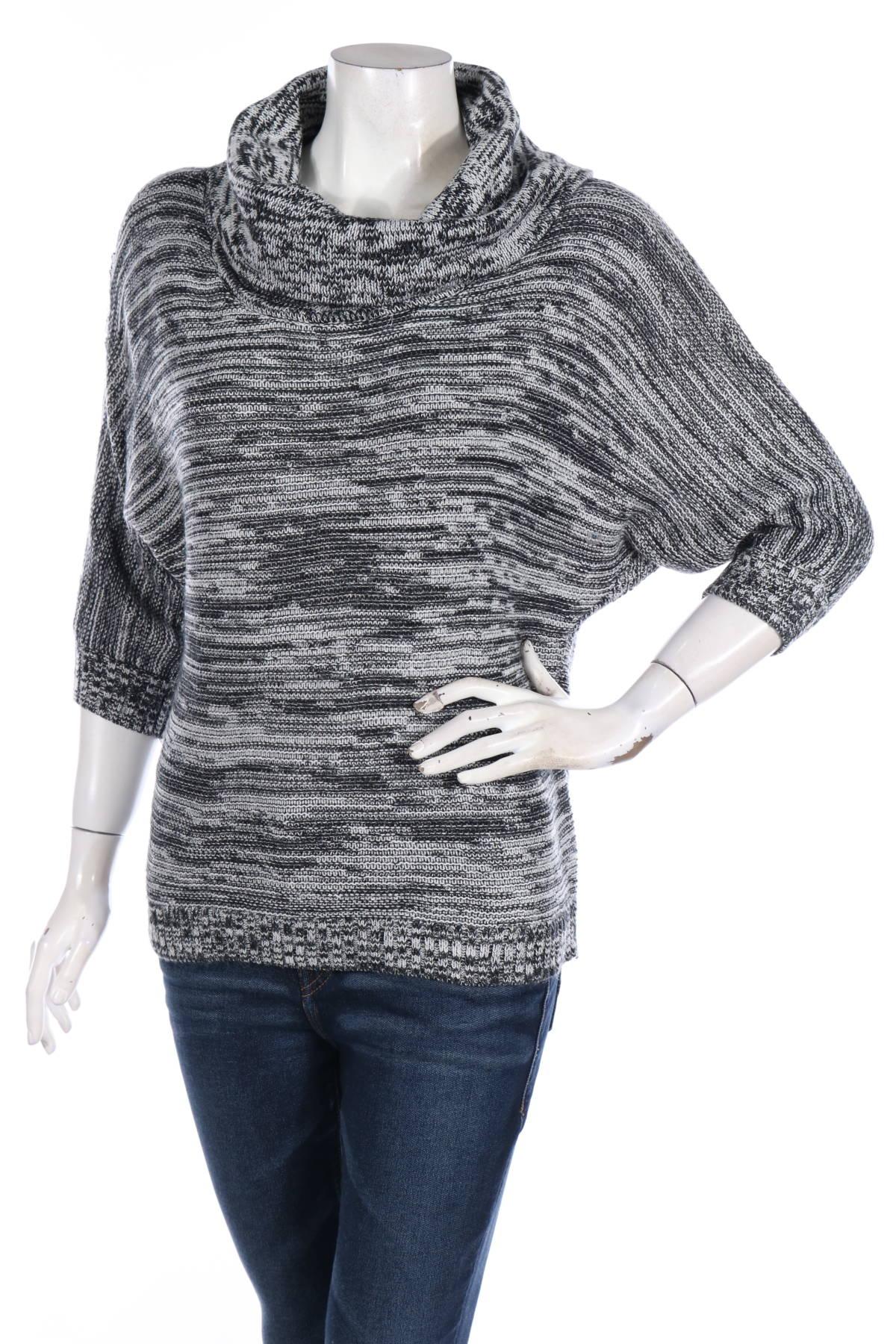 Пуловер с поло яка NEW YORK & COMPANY1