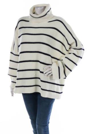 Пуловер с поло яка GLAMOROUS