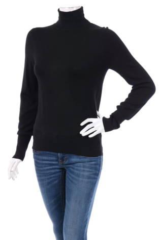 Пуловер с поло яка Only