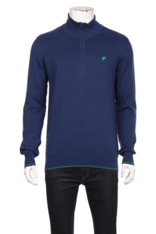 Пуловер с поло яка DENIM CULTURE