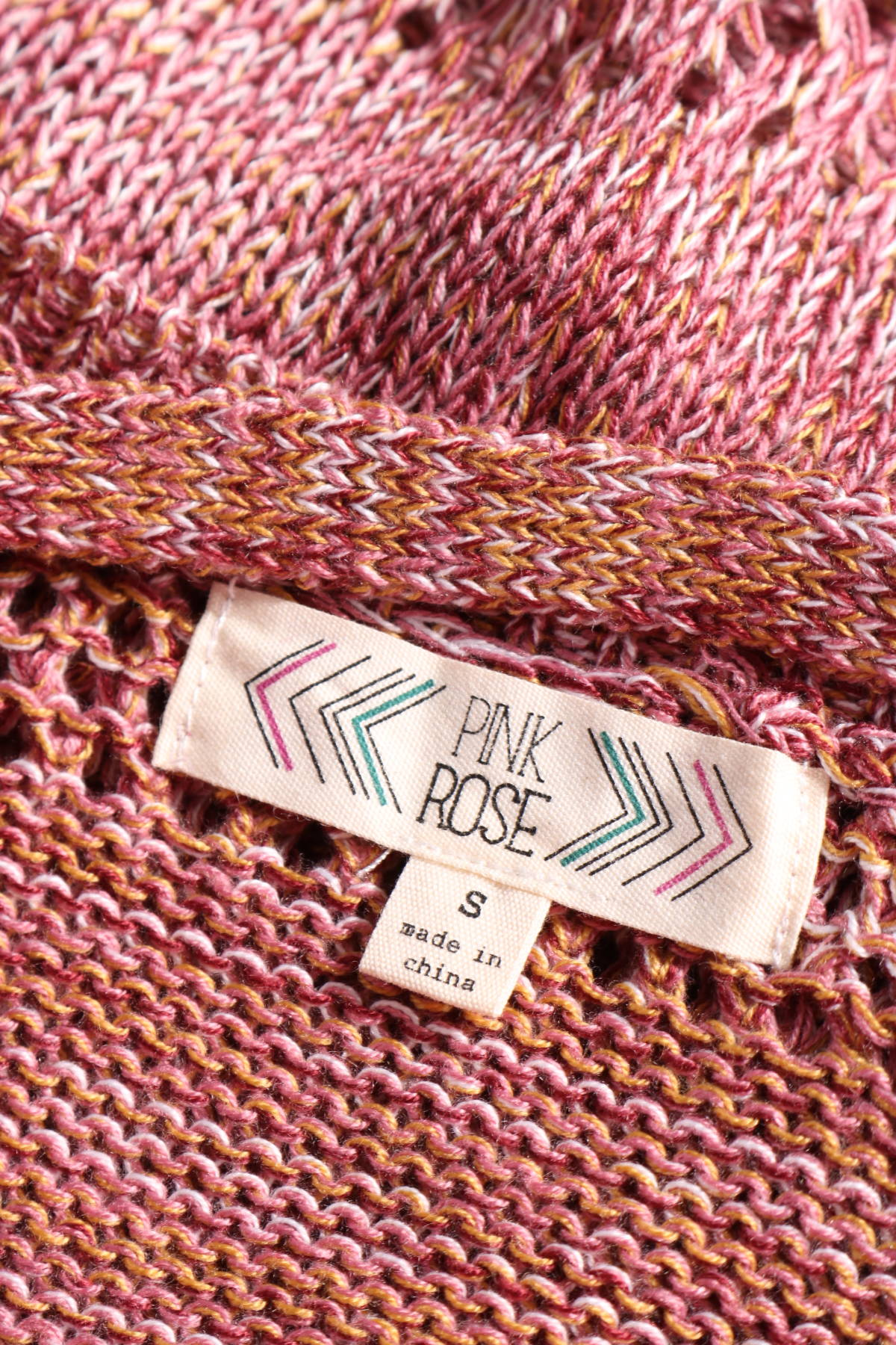 Пуловер PINK ROSE3