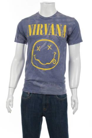 Тениска с щампа NIRVANA