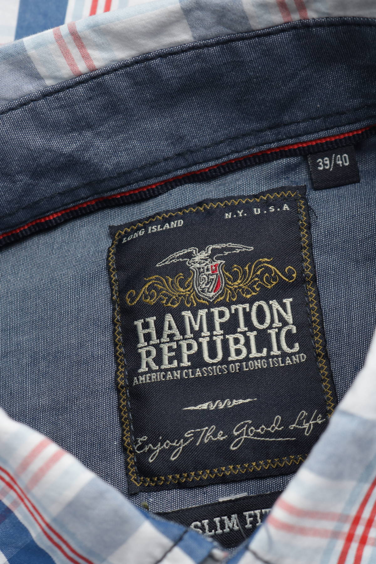Спортно-елегантна риза HAMPTON REPUBLIC3