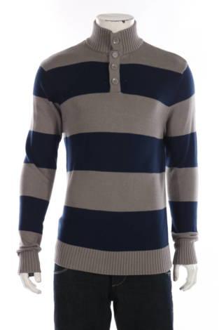 Пуловер с поло яка CARBON