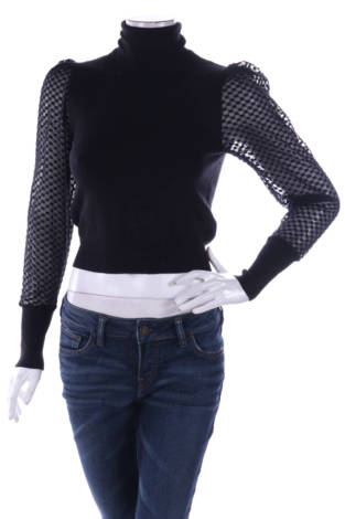 Пуловер с поло яка ZARA
