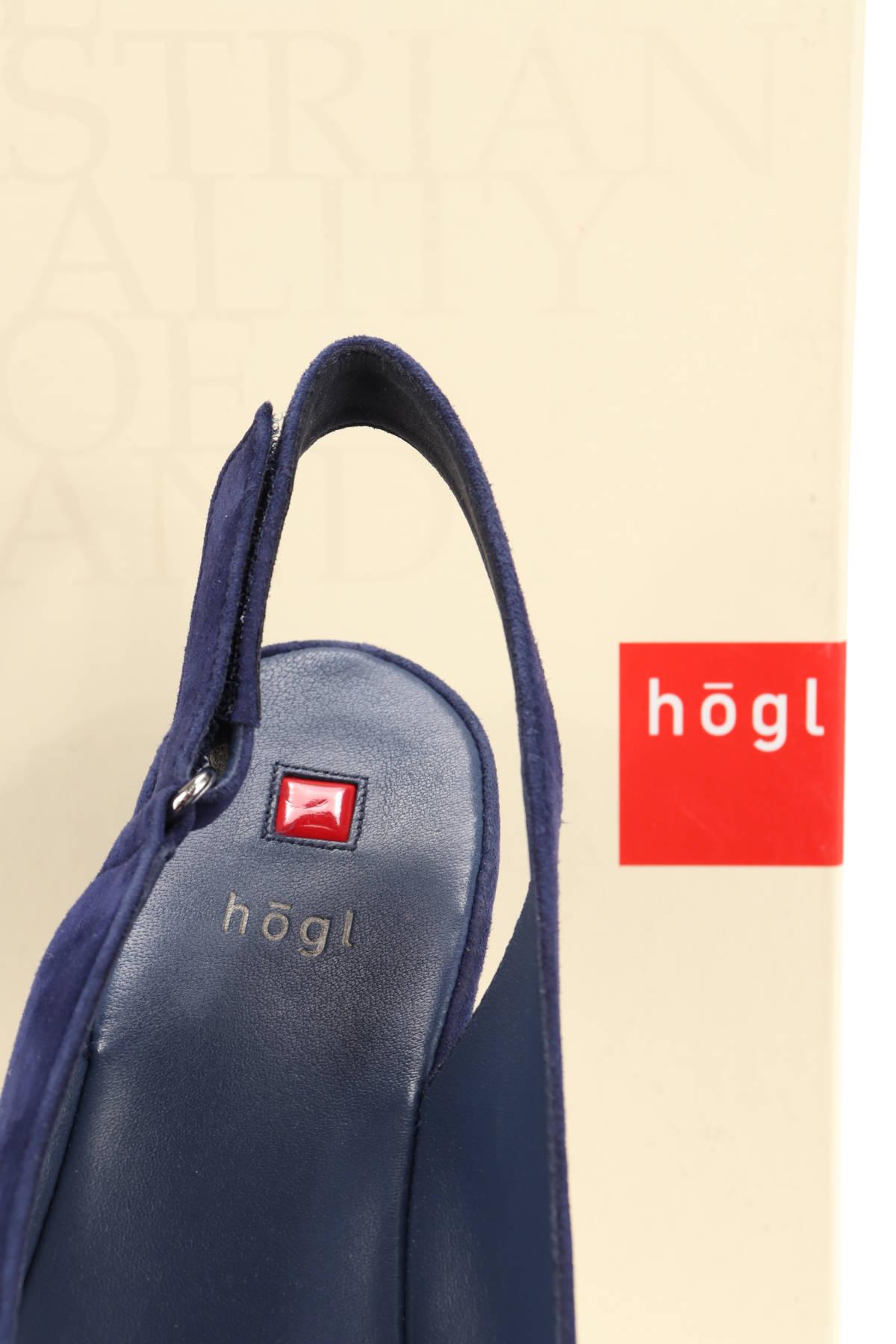 Сандали на ток HOGL4