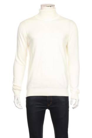 Пуловер с поло яка DENIM PROJECT