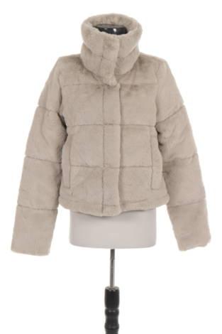 Палто с косъм ABERCROMBIE & FITCH