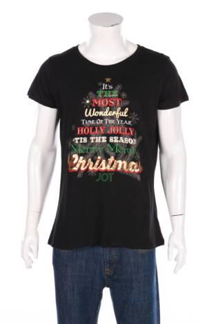 Тениска с щампа Holiday Time