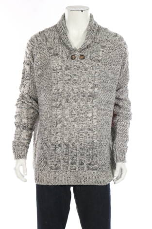 Пуловер с поло яка Yoki