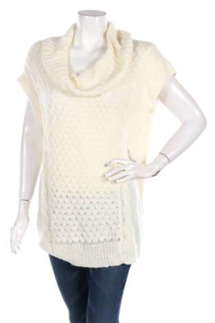 Пуловер с поло яка U-KNIT
