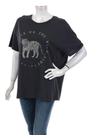 Тениска с щампа Cat Walk