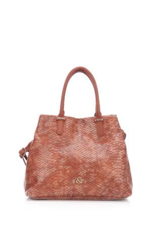 Кожена чанта E&S