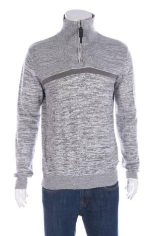 Пуловер с поло яка Projek raw