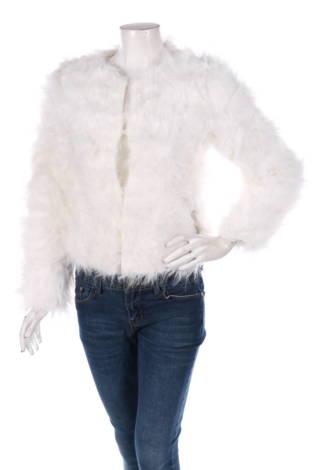 Палто с косъм Lanshifei