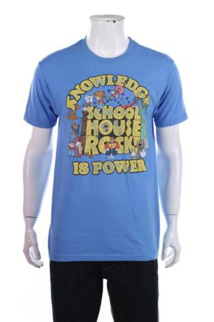 Тениска с щампа Ripple Junction