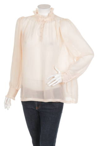 Блуза с поло яка BIK BOK