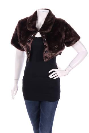 Палто с косъм Mixit