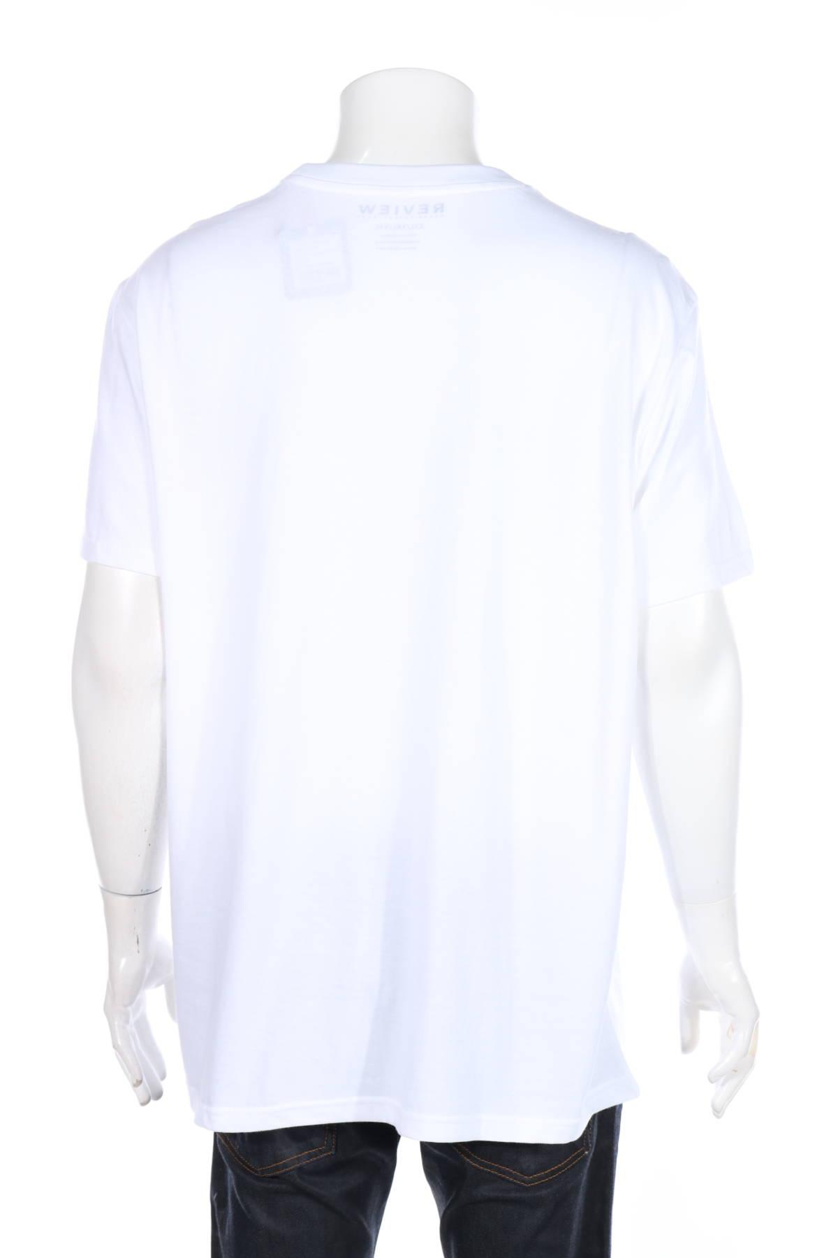 Тениска с щампа Review2