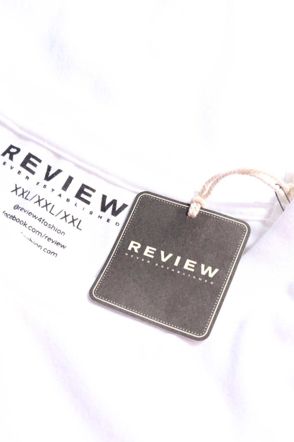 Тениска с щампа Review3