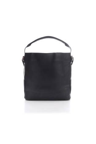 Кожена чанта Zara Basic