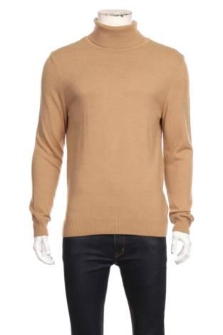 Пуловер с поло яка DEFACTO